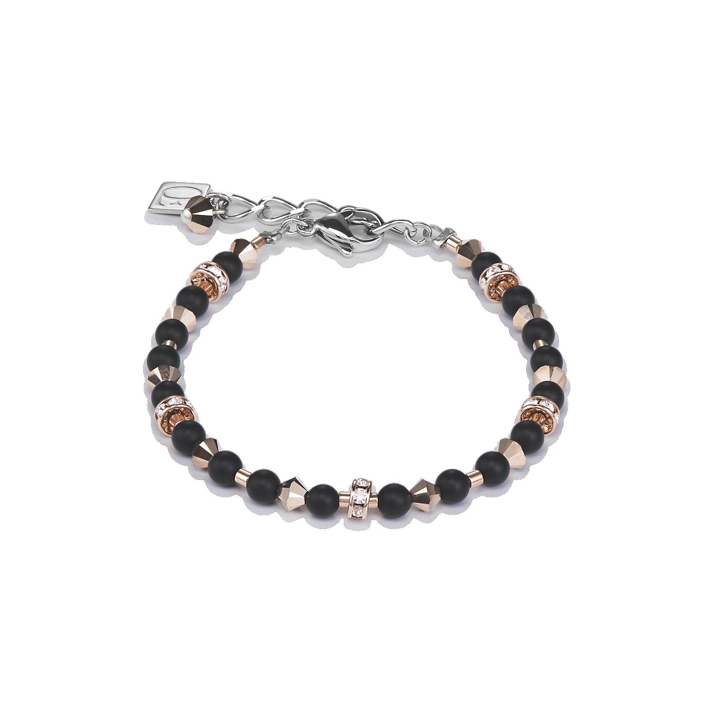 armband swarovski kristalle onyx schwarz coeur de lion. Black Bedroom Furniture Sets. Home Design Ideas