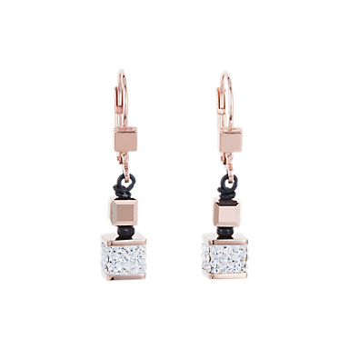 Earrings Crystals Pavé   Swarovski® Crystals   glass crystal   COEUR DE LION 053fa356bbb7