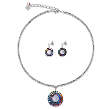 cdf13e3d7d218 Necklace Swarovski® Crystals   glass worked by hand   mesh ...